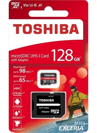Toshiba 128Gb Mıcro Sdxc Uhs1 U3 98/65Mbexcerıapro Renkli
